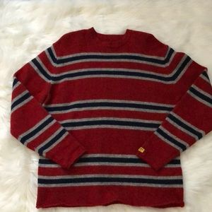 Abercrombie & Fitch Wool Striped Sweater